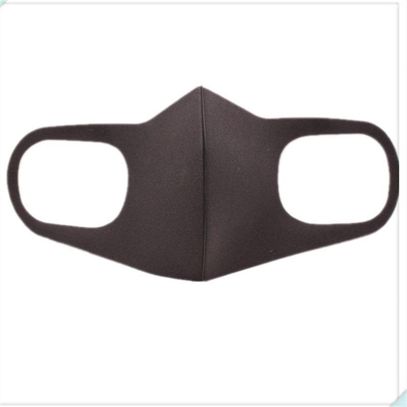 5pcs/lot Dustproof Mouth Mask Black Breathing Face Masks New Arrival Respirator Adult Men Women Running Riding