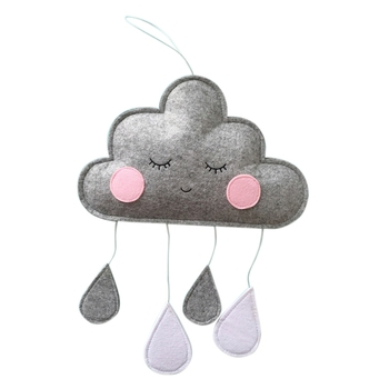 Cute Smiling Clouds for Kids Room Departments Kids Decor Kids Room Rooms Wall Decor