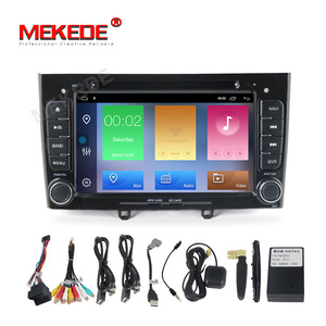 Image 5 - Gratis Verzending Hd 1024X600 Android 10.0 7Inch Auto Dvd Multimedia Voor Peugeot 308 408 Met Wifi Radio gps Navigatie 8G Kaart
