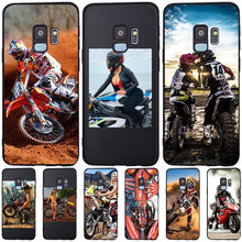 silicone soft tpu Sexy motorcycle girl For Samsung Galaxy S6 S7 Edge S10 Plus Note 8 9 10 A30 A40 A50 A60 A70 M10 M20 phone Case(China)