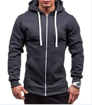 MRMT 2021 New Men's Hoodies Sweatshirts Zipper Hoodie Men Sweatshirt Solid Color Man Hoody Sweatshirts For Male 2