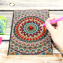 2019 New Arrivals Special Shaped Notebook 5d Diamond Painting A5 Diary Book Embroidery Sale Mosaic Pictures Gift