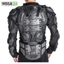 WOSAWE Sports Back Protector Jacket Body Support Bandage Cycling Motorcycle Guard Brace Protective Gears Chest Ski Protection