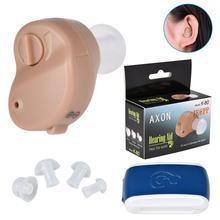 Aparelhos auditivos amplificadores de som para os idosos som amplificador de voz controle de volume instrumento plugue da orelha mini sem fio próteses da orelha