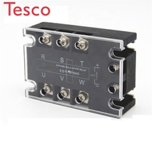 цена на 3 Phase SSR 24-480v Voltage Regulator SSR--3P 10A 25A 40A General Solid State Relay