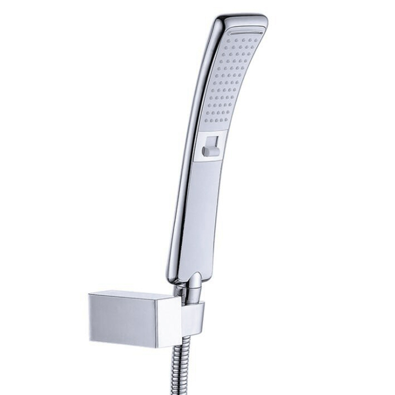 Waterfall 2 Function Hand Held Shower Head High Pressure Rain Shower Sprayer Set Water Saving