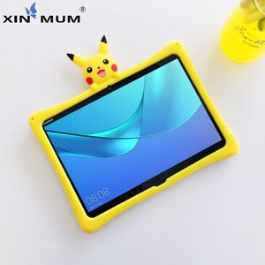 Чехол для Huawei MediaPad T5 10,1 дюйма, чехол с мультяшным рисунком для детей, с рисунком из мультфильма, с рисунком, для MediaPad T5 10,1 дюйма, силиконовый ч...