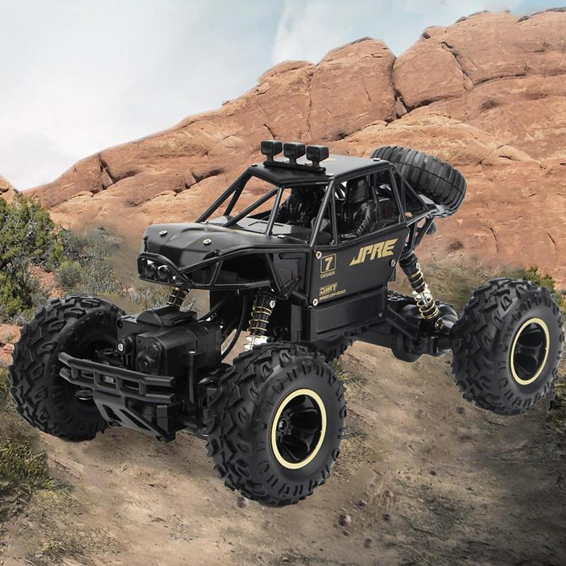 Children's Rc Car Buggy Off-road Oversized Four-wheel Drive Remote Control High-speed Climbing Racing Charging Truck Cars Toys
