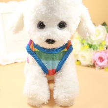 1 pc Carton Cute Pet CAT Clothes Cartoon Small Dog Clothing Coat For Sweater Vest Cloth Classic Jacket Supplies
