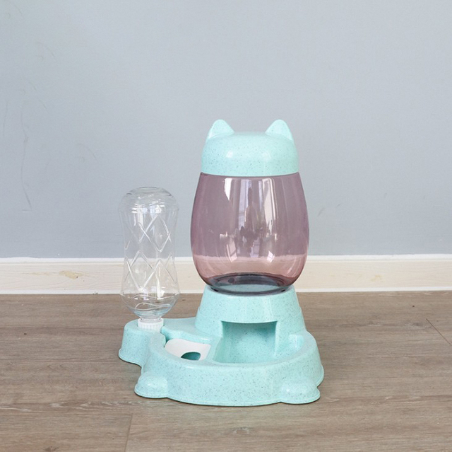 2.2L Cat & Dog Automatic Feeder and Drinking Bowl  6