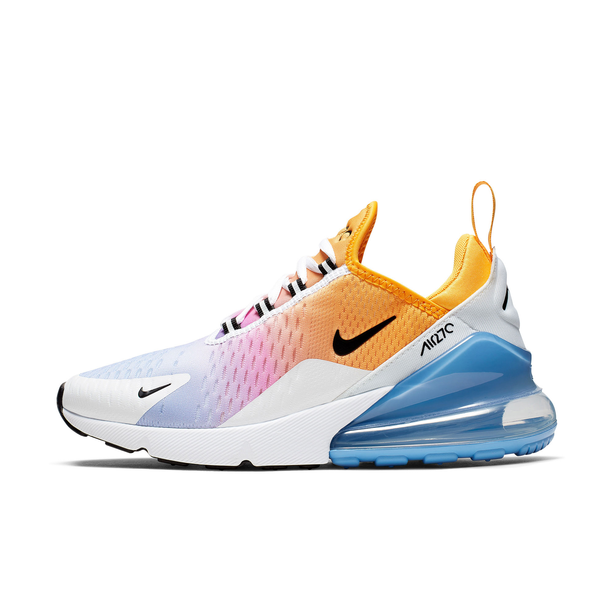 US $60.0 40% OFF|Original Nike Air Max 270 Women's Running Shoes Sneakers Good Quality Sport Massage Lace Up Outdoor Athletic Breathable AH8050 in