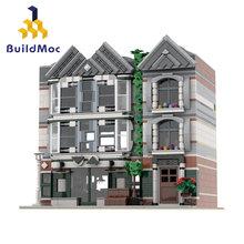 Buildmoc arquitetura blocos de construção criador especialista técnica cidade rua europeu casas 70657 docas designer montagem tijolos