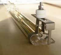 transparent glass heater carbon fiber heating element halogen heater tube 400w