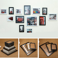 13Pcs/set Wall Hanging Photo Combination Frame Set Bedroom Living Room Wall Decoration Art Home Decor Family Picture Display