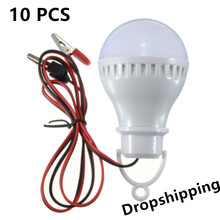 цены 10 pcs E27 2.5W 5730 Pure White Solar Powered LED Bulbs Solar Lamp Solar Led Bulb Home Camping Light 12V