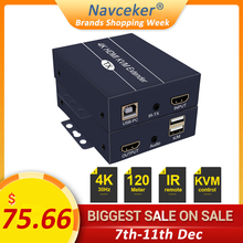 2020 H.264 200m HDMI KVM удлинитель через IP сеть HDMI USB удлинитель через RJ45 USB KVM удлинитель HDMI по Cat5e Cat6 для HDTV DVD