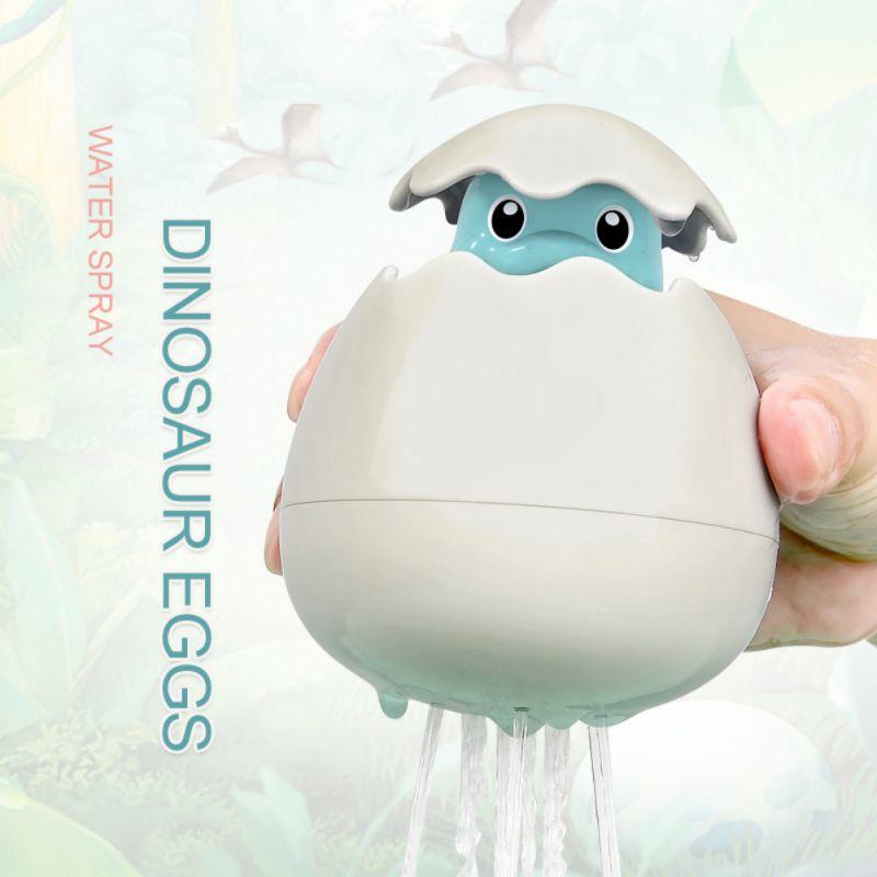 Baby Cute Dinosaur Baby Bath Toys Floating Bath Toy Water Spray Toy Swimming Tub Bathtub Pool Doll For Boys Girls
