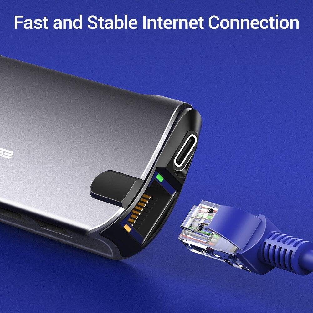 ESR Type C Hub USB 3.1 Multiple Ports Pakistan BrandTech.pk
