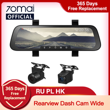 Originele 70mai Streamen Media Achteruitkijkspiegel 9.35Inch Auto Dvr 1080P View 130FOV 70 Mai Recorder 70mai Streamen media Dash Cam