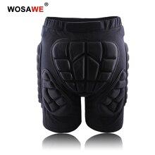 Wosawe motocross calças shorts da motocicleta shorts moto hip proteção equitação equipamentos de corrida