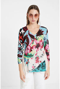 Spain Deg Apring and Autumn Printed Sweater