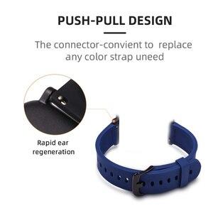 Image 5 - BOORUI pasek silikonowy do huami Amazfit Bip tempo Lite bransoleta ze smartwatchem akcesoria do inteligentnego zegarka z modnymi kolorami