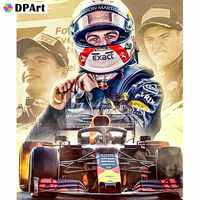 Daimond Painting Full Square/Round Drill Racer F1 5D Diamond Rhinestone Embroidery Painting Cross Stitch Kit Picture M314