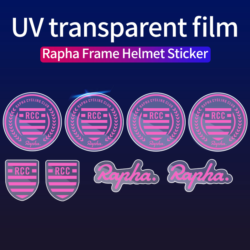 Rapha Small Label Sticker Bicycle Frame Decals Bike Helmet Stickers