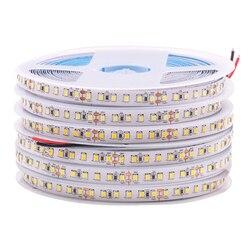 12V 24V 2835 LED Strip 5m 10m 15m 20m Tape Light Ribbon 60/120/240/480 LED Natural White / Warm White / Cold White Home Decor