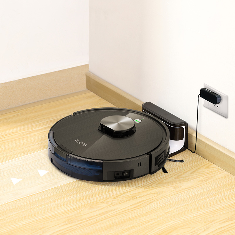ILIFE A10s Robot Vacuum Cleane,LDS laser navigation, Smart Planned WIFI App Remote Control,Draw Cleaning Area On Map 5