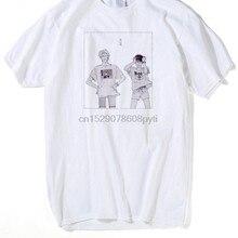 Camiseta de Manga corta para hombre Anime Banana Fish camiseta Manga Ash Lynx Eiji Okumura Shunichi Ibe Max Lobo arthur camisetas