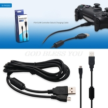 Charger Usb-Data-Cable Game-Controller Micro-Charging Sony PS4 Slim for 2-In-1