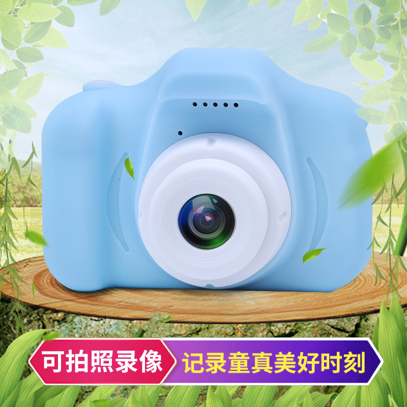 New X2 Children's Camera Mini SLR Camera Cartoon Toy Digital Camera Video Camera Boys And Girls Birthday Gifts