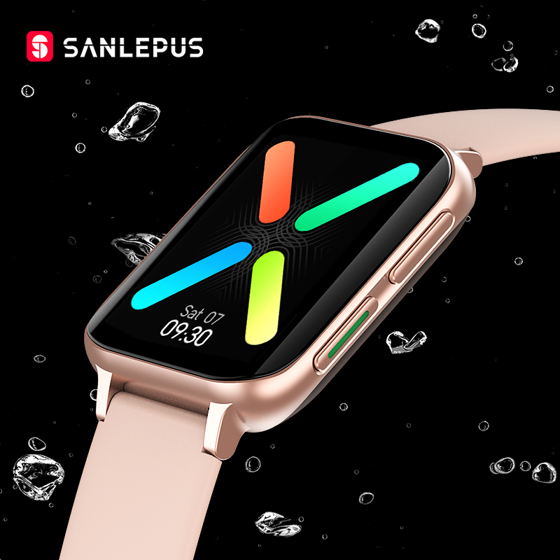 SANLEPUS 2020 ЭКГ Смарт часы звонки по Bluetooth, умные часы для мужчин и женщин, Водонепроницаемый сердечного ритма крови Давление высококачественны...