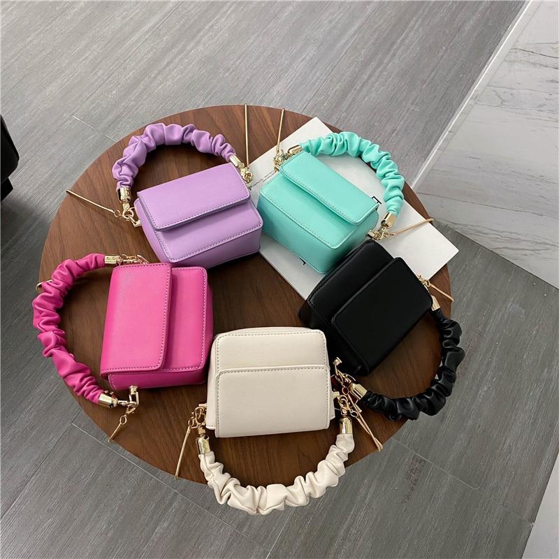 MINI sacs à bandoulière en cuir pour femmes 2020 conception de chaîne Sac à Main de luxe Femme sacs de voyage et sacs à Main Sac A Main Femme | AliExpress