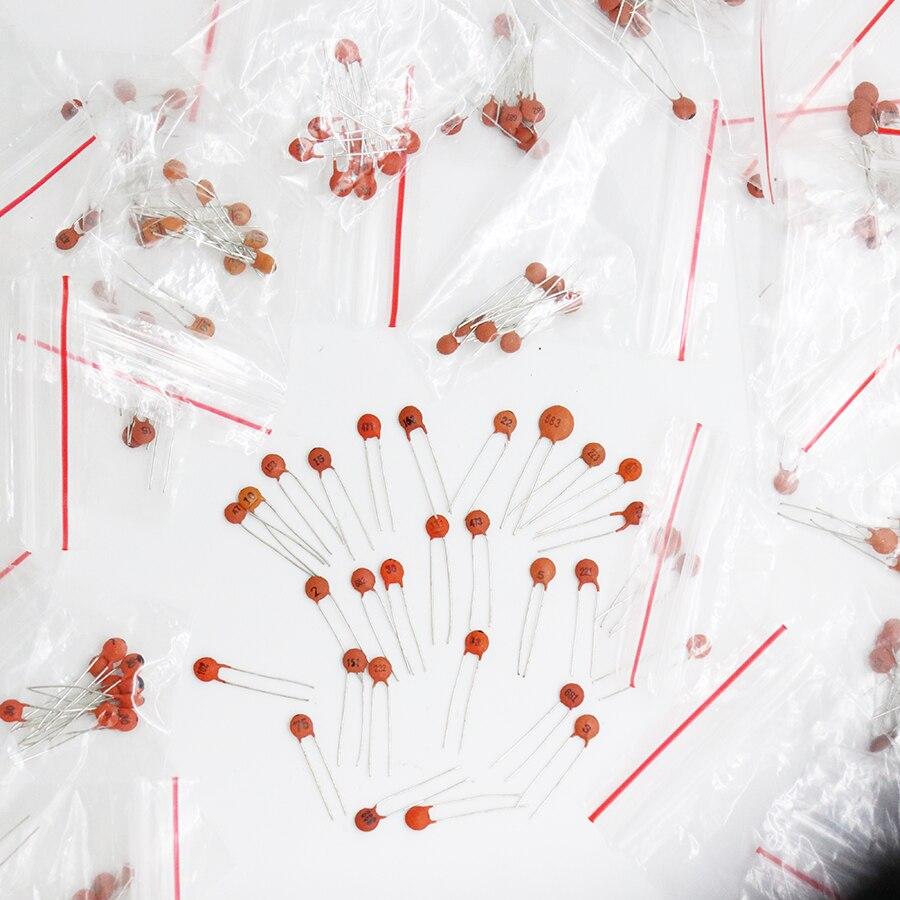 300 pièces 30 valeur 50 V Condensateur Céramique kit Assorti Assortiment Ensemble 30value * 10 pièces = 300 pièces