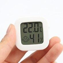 2 em 1 digital termômetro higrômetro mini temperatura/umidade medidor de parede casa higrothergraph para interior ao ar livre