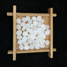 Natural Hetian Jade Naked Stone Egg-Shaped Flat Plain Surface 10*12mm Ring Surface