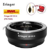 Adaptador de lente fringer EF FX ii FR FX20 foco automático para fujifilm X E EF FX2 pro X H X T X PRO para canon ef lente para montagem fujifilm
