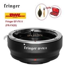 Fringer Lens Adapter EF FX II FR FX20 Auto Focus FOR Fujifilm X E EF FX2 PRO X H X T X PRO for Canon EF Lens to Fujifilm mount