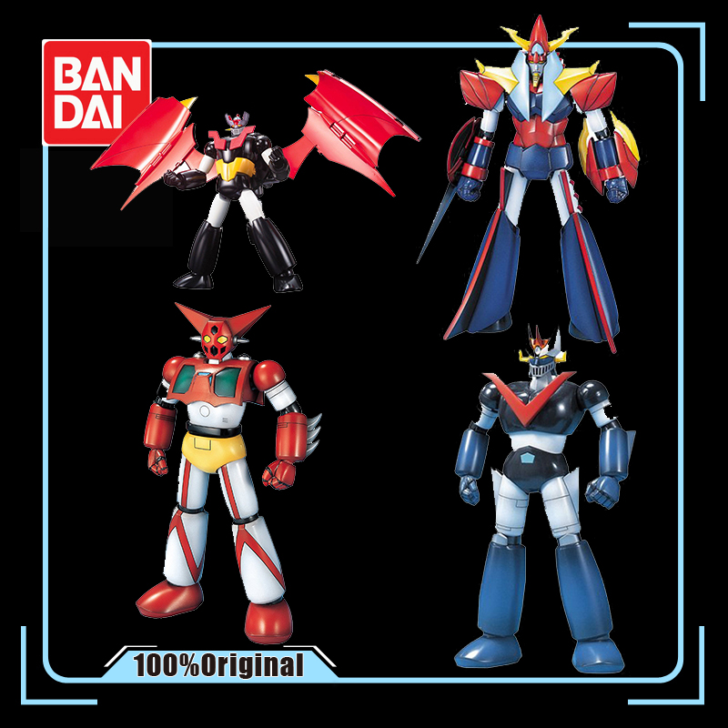 <font><b>BANDAI</b></font> 1/144 Great <font><b>Mazinger</b></font> <font><b>Z</b></font> Getter Robo GUNDAM Assembly Model <font><b>Action</b></font> Toy <font><b>Figures</b></font> Gifts for Children image