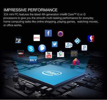 Fanless Mini PC Intel Core i7 6498DU i5 7200U Desktop Mini SATA SSD Dual LAN DDR4 HDMI VGA 6*USB 2*COM LAN Windows 10 WIFI