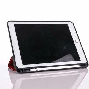Чехол для iPad Pro 2017, 10,5 с держателем-карандашом, тонкий трехскладной умный чехол-подставка с функцией автоматического сна/пробуждения для iPad ...