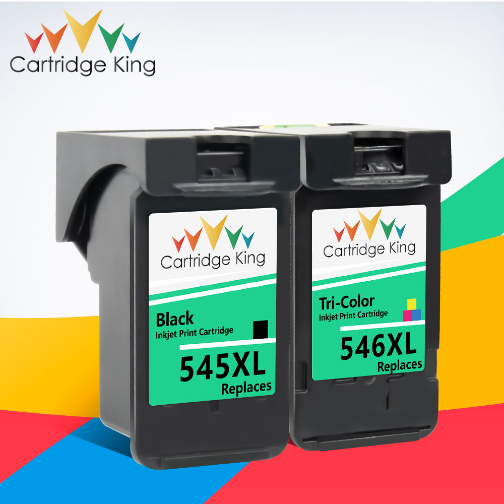 Cartridge King PG545 CL546 Cartridge for <font><b>Canon</b></font> PG 545 CL 546 Compatible for Pixma IP2850 MX495 MG2950 MG2550 MG2450 Printer image