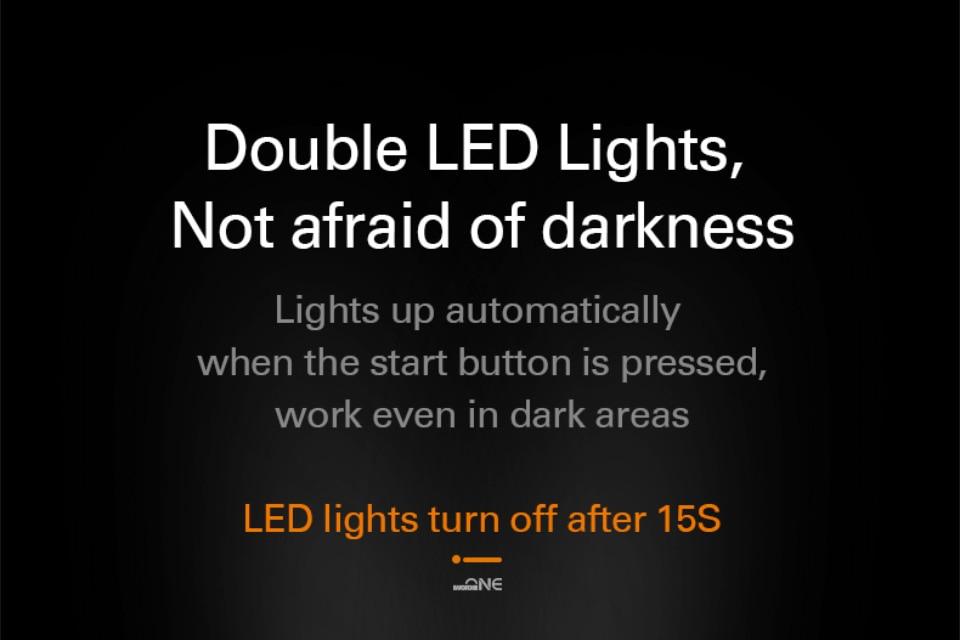 Double LED Lights