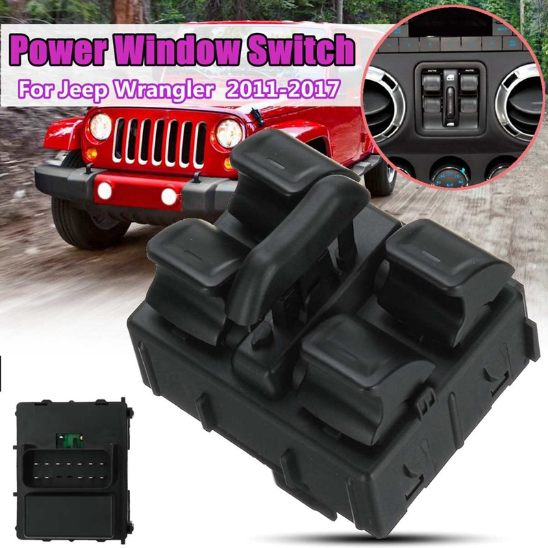Car Main Electric Window Control Switch For Jeep 2011-2017 68156217AA 68156217AB