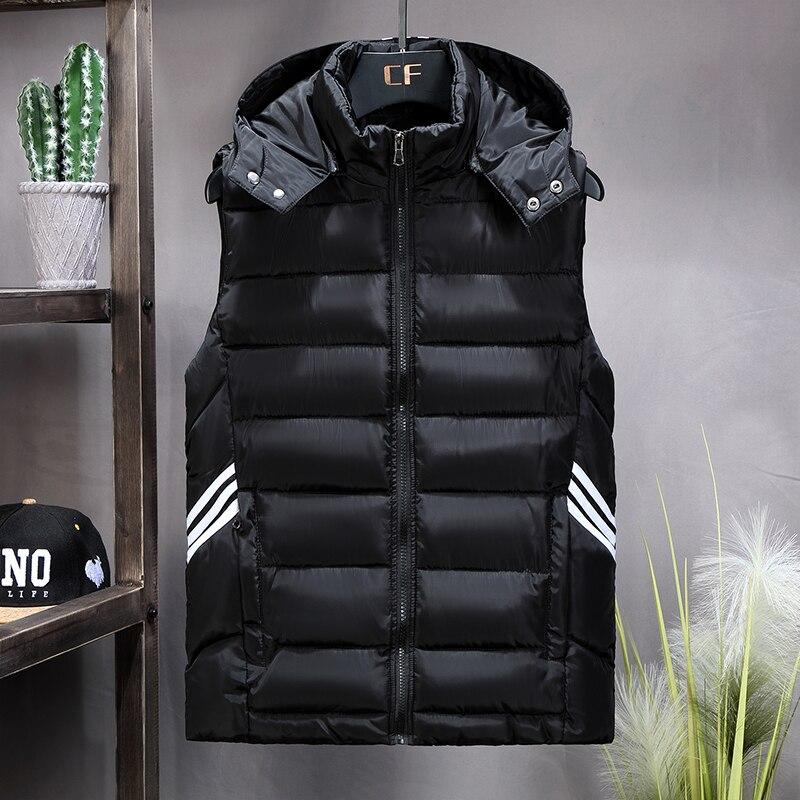 Winter Vest Plus Size 7xl 8xl 9xl 10xl Parka Vest Waistcoat Jackets Coats Sleeveless Jackets Warm Parka Jacket Waistcoat Men