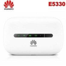 Разблокированный HSPA+ 21,6 Мбит/с HUAWEI E5330 Мини Портативный 3g WiFi роутер и 3g мобильный wi-fi-роутер