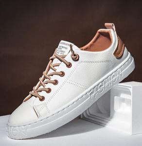 Image 2 - tenis masculino Men Sports shoes 2020 fashion board shoes men trend breathable white sneakers basket zapatillas blancas hombre
