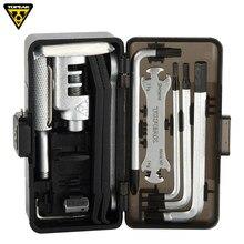 Topeak TT2543 коробка передач для выживания, набор инструментов для ремонта велосипеда, портативный инструмент для езды на велосипеде, дорожные т...